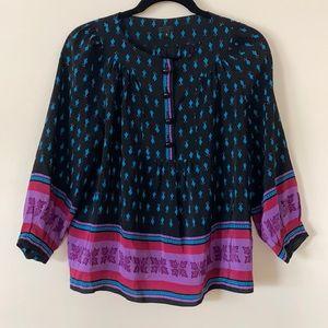 Anna Sui Silk Blouse